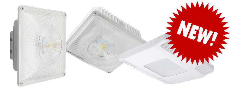 Introducing New LED Canopy Lights in three Different Variations