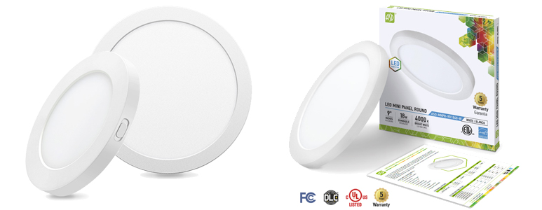 Introducing New Surface LED Round Mini Panel by ASD Lighting