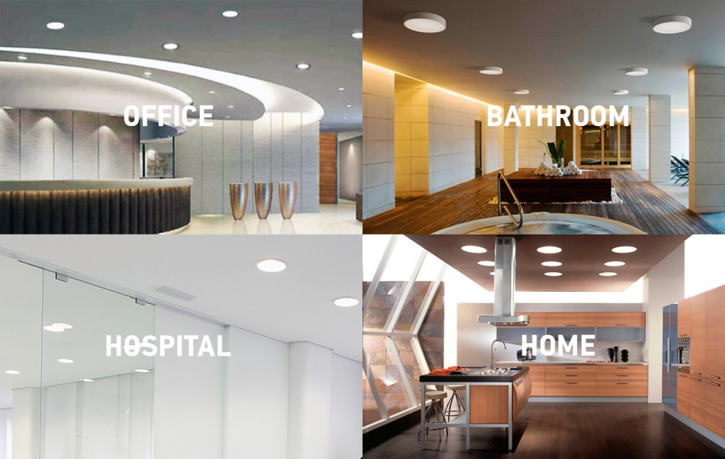 mini panels in interior.jpg & Introducing New Surface LED Round Mini Panel by ASD Lighting